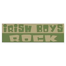 Irish Boys Rock Bumper Bumper Sticker