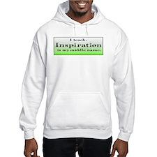 I Teach - Green Hoodie