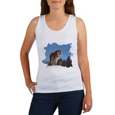 """Tiger in the Snow - B3""  Women's Tank Top"