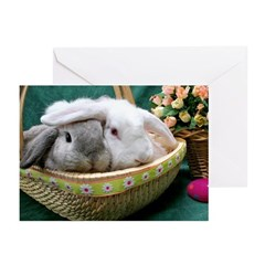 Easter Bunnies Greeting Cards (Pk of 10)