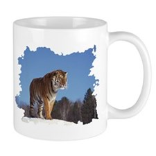 """Tiger in the Snow - B3""  Mug"