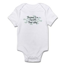Because CPA Infant Bodysuit