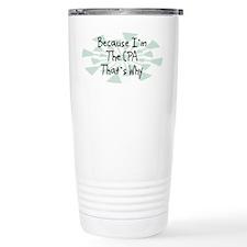 Because CPA Travel Mug