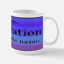 I Teach - Blue Mug