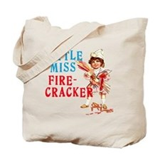 Vintage Miss Firecracker Tote Bag