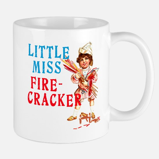 Vintage Miss Firecracker Mug