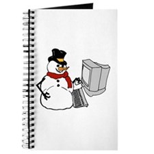 Snowman at the Computer Journal