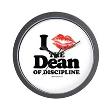 I kissed the Dean of Discipline ~  Wall Clock