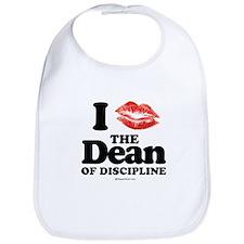I kissed the Dean of Discipline ~  Bib