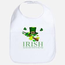 IRISH DOWN TO MY TOES Bib