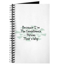 Because Compliance Person Journal
