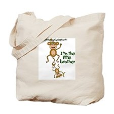 Cute Little brother monkey Tote Bag