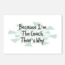 Because Coach Postcards (Package of 8)