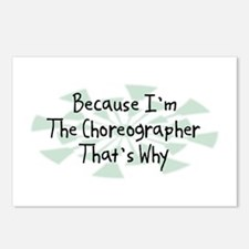 Because Choreographer Postcards (Package of 8)