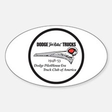 Dodge Pilothouse Truck Club Oval Decal
