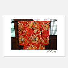 Furisode Kimono Postcards (Package of 8)