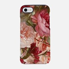 Floral Pink Roses iPhone 7 Tough Case