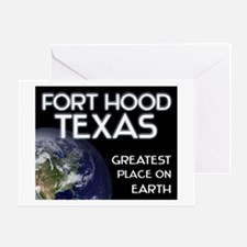 fort hood texas - greatest place on earth Greeting