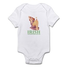 IRISH DOWN TO MY TOES Infant Bodysuit