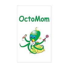 Moneygrabber Octomom Rectangle Decal