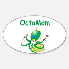 Moneygrabber Octomom Oval Decal