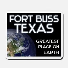fort bliss texas - greatest place on earth Mousepa