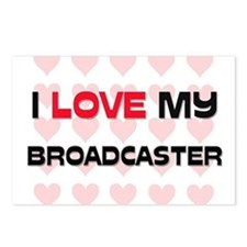 I Love My Broadcaster Postcards (Package of 8)