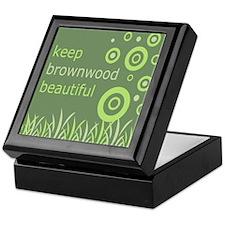 """""""Keep Brownwood Beautiful"""" Keepsake Box"""