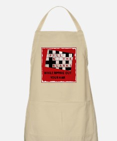 Crossword 1 BBQ Apron