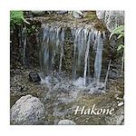Pond Waterfall Tile Coaster