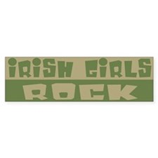 Irish Girls Rock Bumper Bumper Sticker