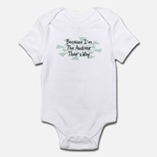 Because Auditor Infant Bodysuit