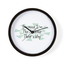 Because Auditor Wall Clock