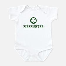Irish Firefighter Infant Creeper