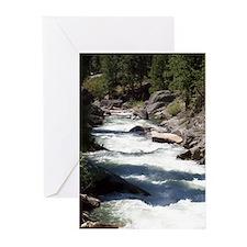 Cool Babbling brook Greeting Cards (Pk of 10)