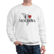 I Love Moldova Sweatshirt