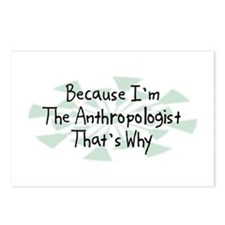 Because Anthropologist Postcards (Package of 8)