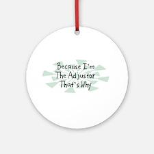 Because Adjustor Ornament (Round)