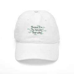 Because Actuary Baseball Cap