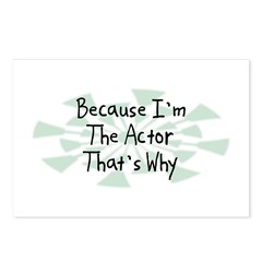 Because Actor Postcards (Package of 8)
