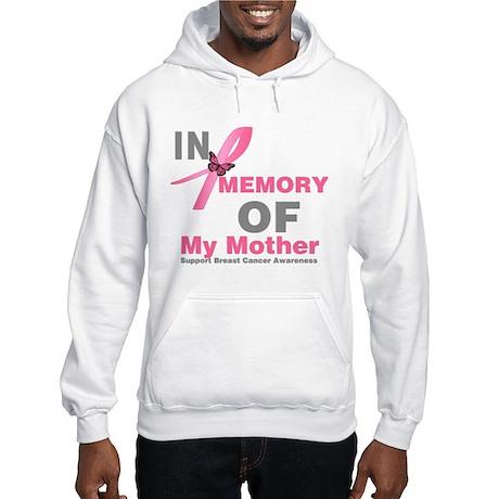 BreastCancerMemoryMother Hooded Sweatshirt