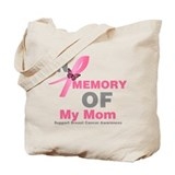 Breast cancer in memory Canvas Totes