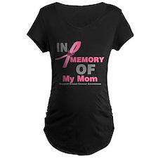 BreastCancerMemoryMom T-Shirt
