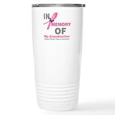 BreastCancerMemoryGrandmother Travel Mug