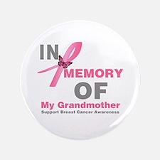 "BreastCancerMemoryGrandmother 3.5"" Button"