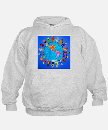 Peaceful Children around the World Hoodie