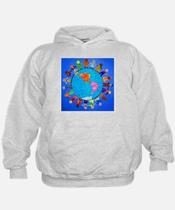 Peaceful Children around the World Hoody