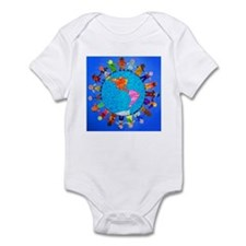 Peaceful Children around the World Infant Bodysuit