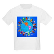 Peaceful Children around the World T-Shirt