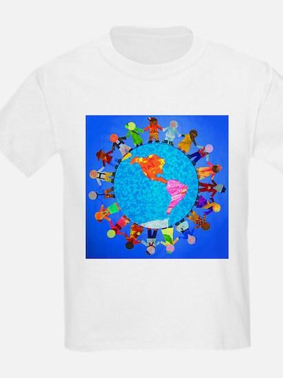 Peaceful Children around the World T-Shirt